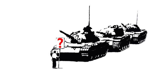 Tank Man Due Process Please