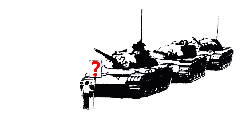 Tank Man Due Process Please